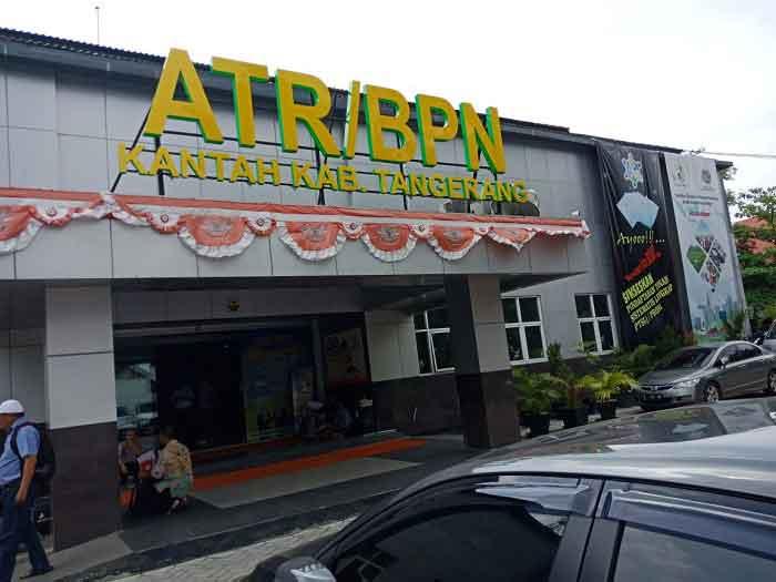 Kantor BPN Kabupaten Tangerang