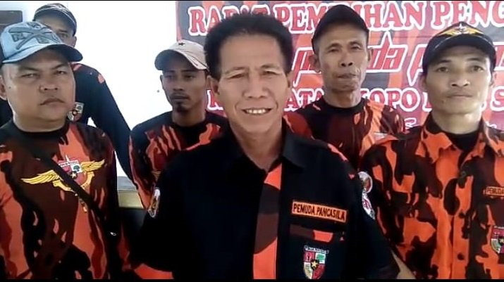 Foto : Bai Sakmad KetuaTerpilih PAC Pemuda Pancasila Kecamatan Kopo
